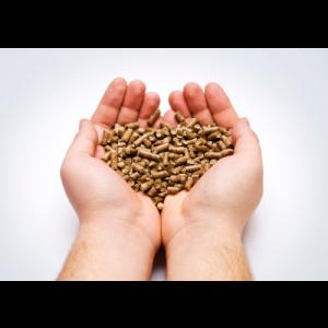 Love wood pellets