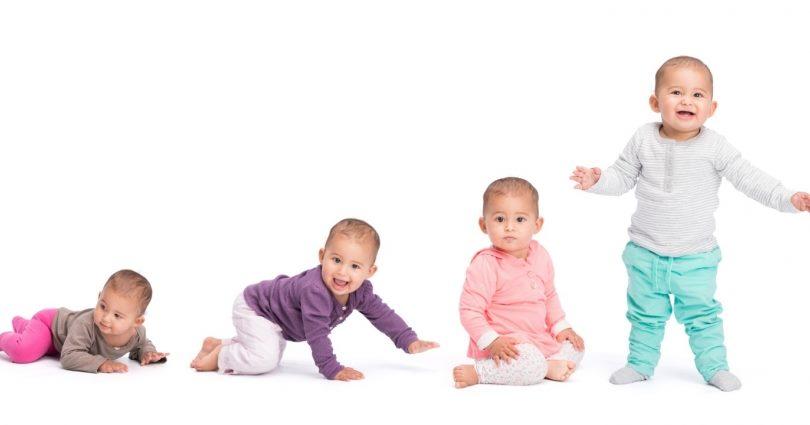 developmental milestones - child growth over time