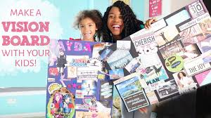 how to create a vision board with your kids
