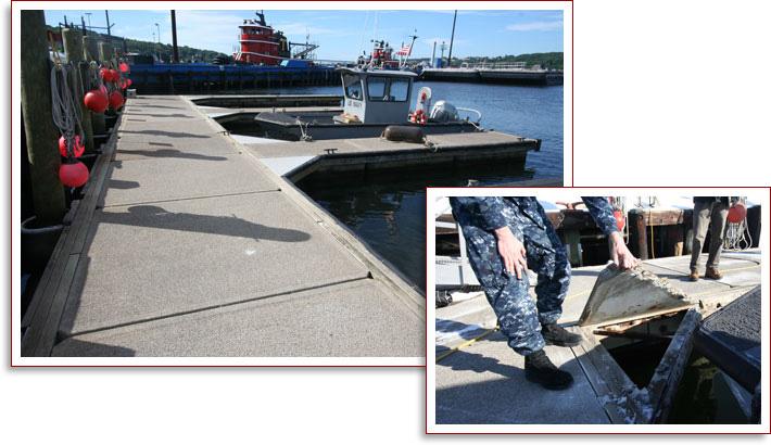 Pier Renovation for Naval Submarine Base