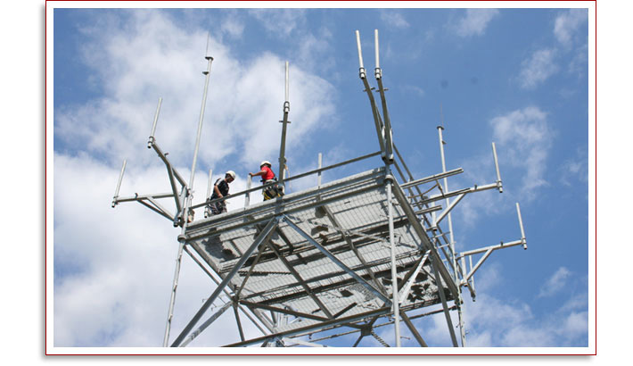 Control Transmitter Tower Construction for Federal Aviation Administration