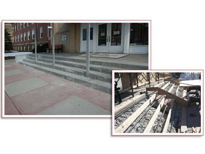 Concrete Stair Repair for Groton Submarine Base