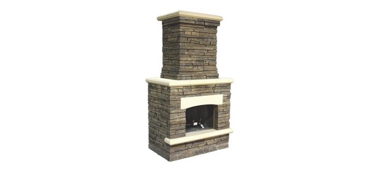 Bordeau Fireplace silo