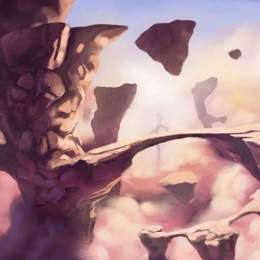 Cloud World Concept