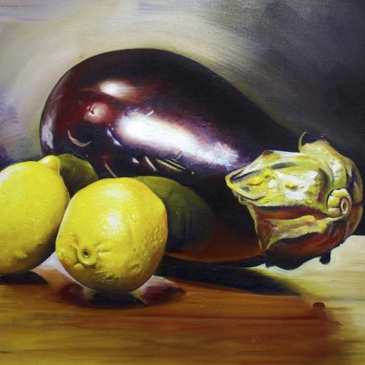 Eggplant and Lemons