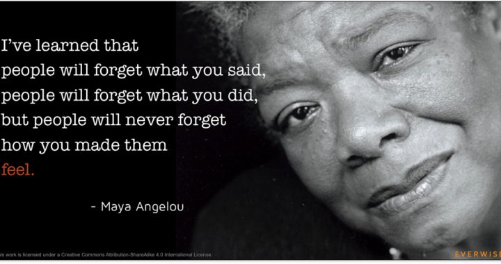 Do right: Lessons from Maya Angelou
