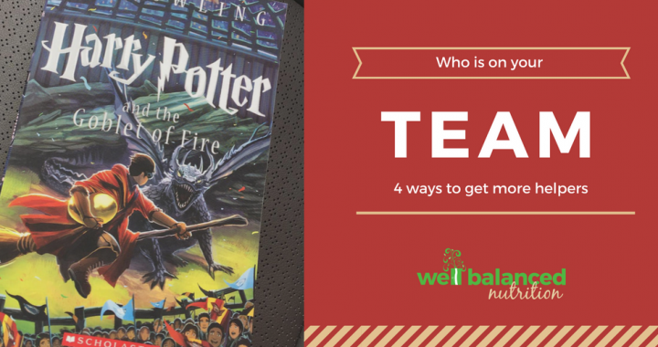 Who is on your team? 4 ways to get more helpers