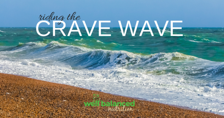Riding the crave wave - a mindful eating strategy