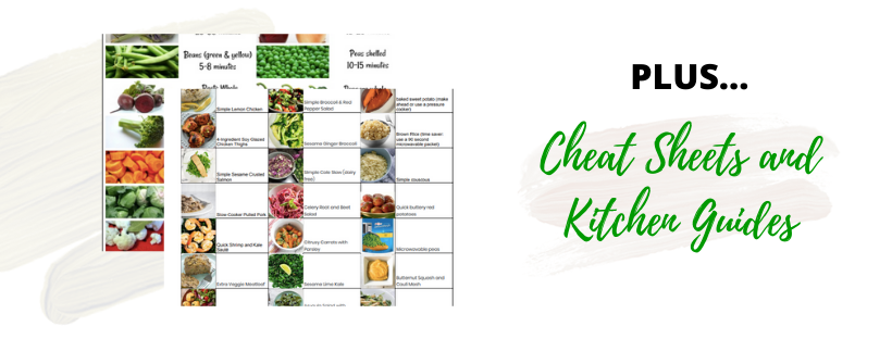 The Beginners Guide To Meal Planning That Works -  Course and Cooking Challenge