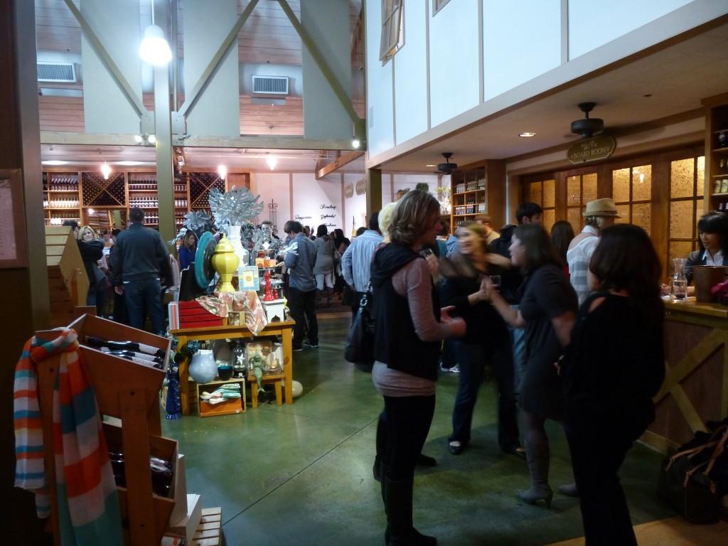 Ponte Vineyards' Tasting Room/Gift Shop