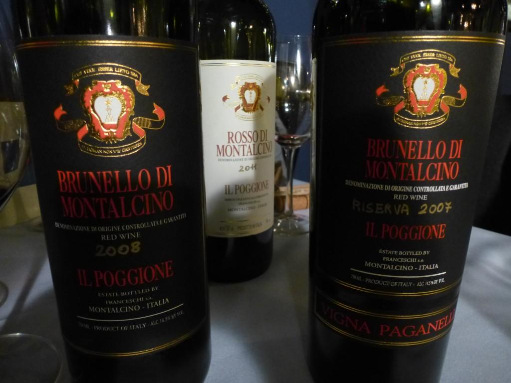 Wines of Il Poggione