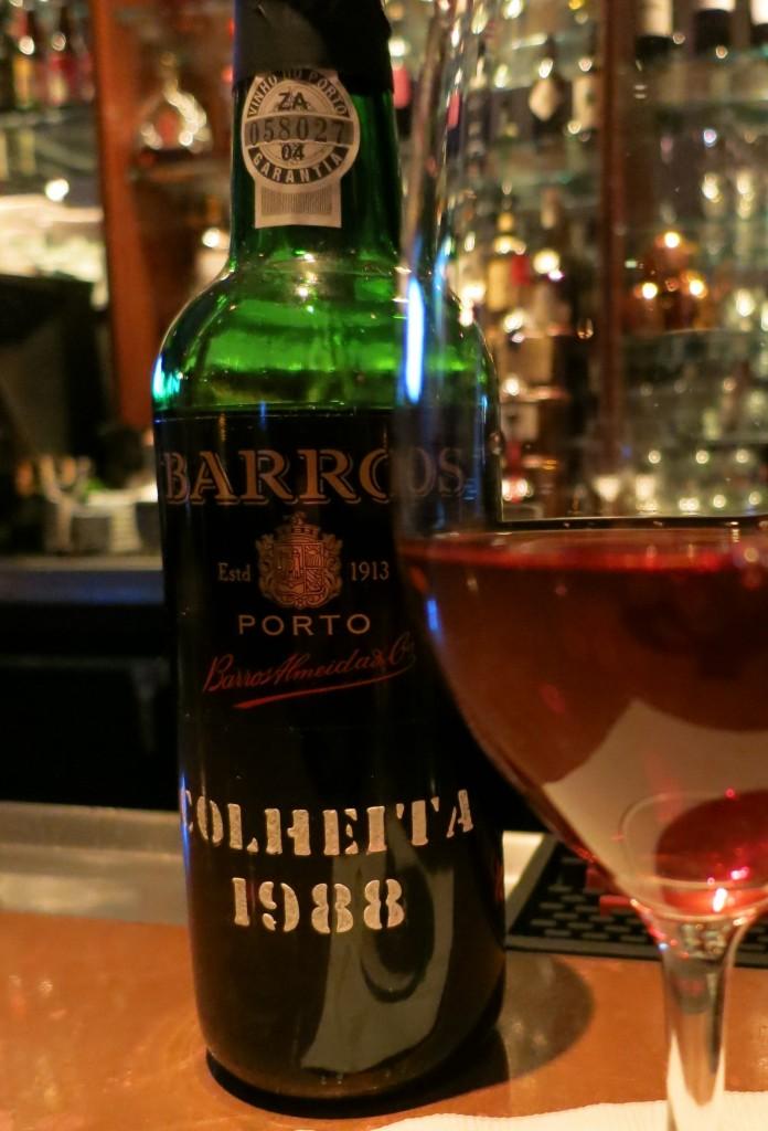 Barros 1988 Colheita Port