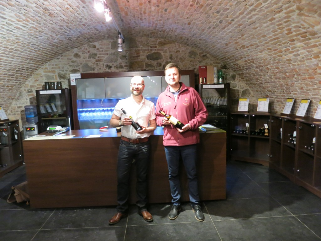 Tasting with Rado in the Národný Salón Vín