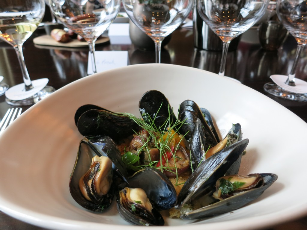 Mussels with Chablis