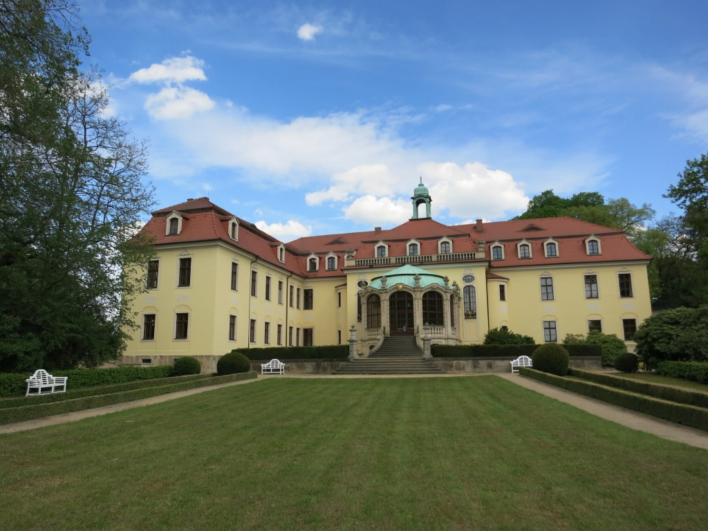 Schloss Proschwitz (Proschwitz Palace), ancestral home of the zur Lippe family