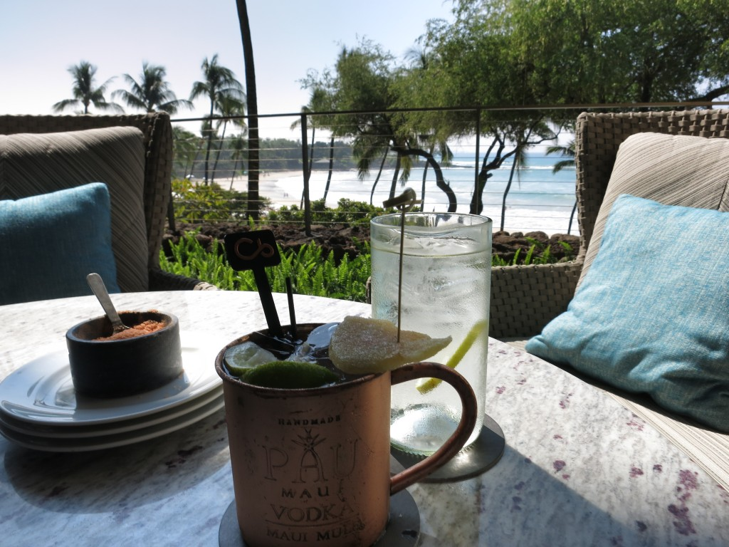 Mauna Kea Mule cocktail made with Pau Vodka