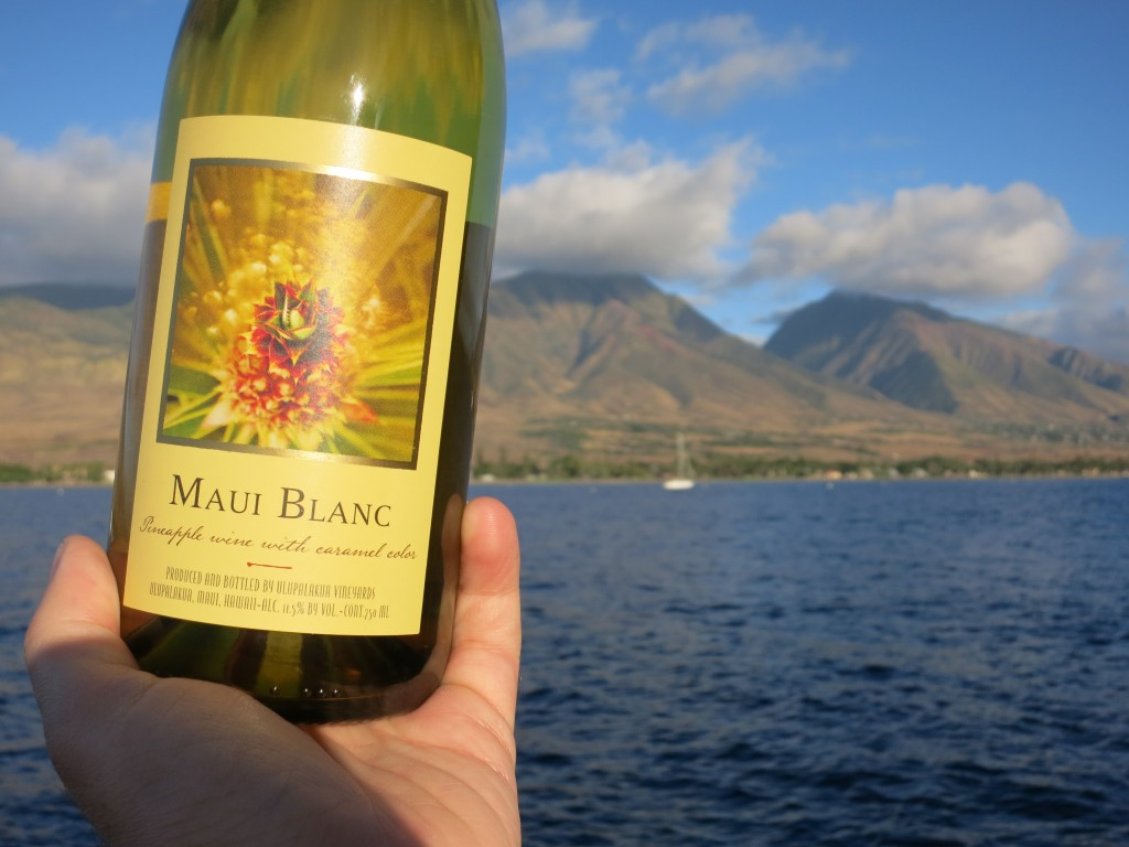 "NV Maui Wine ""Maui Blanc"" Pineapple Wine"