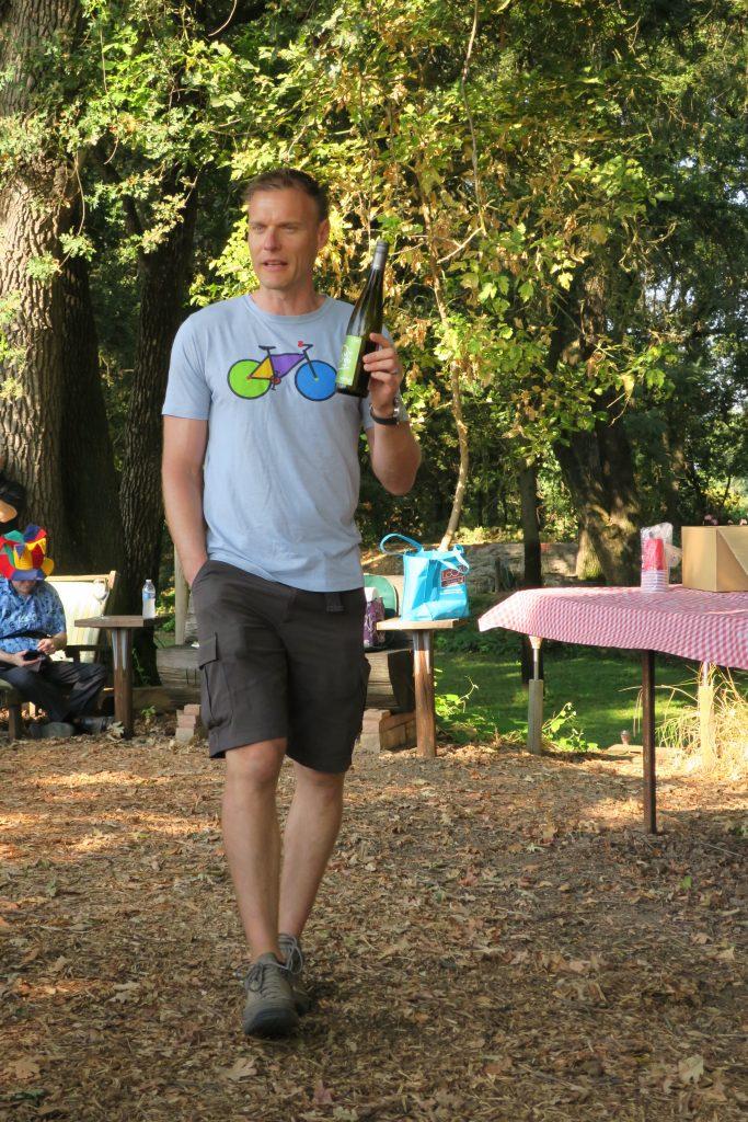 Winemaker Markus Riggli
