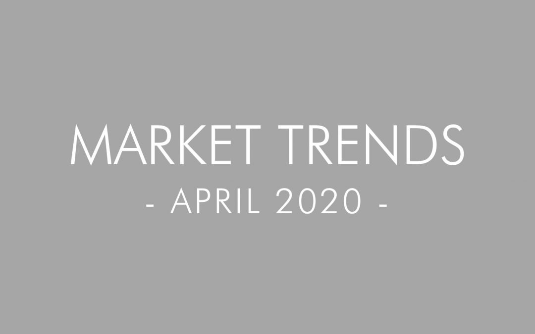 2020 April Real Estate and Mortgage Trends – San Diego, California
