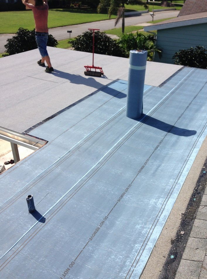 Flat Roof Tappered System