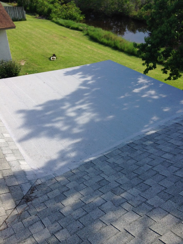 Flat Roof Replaced