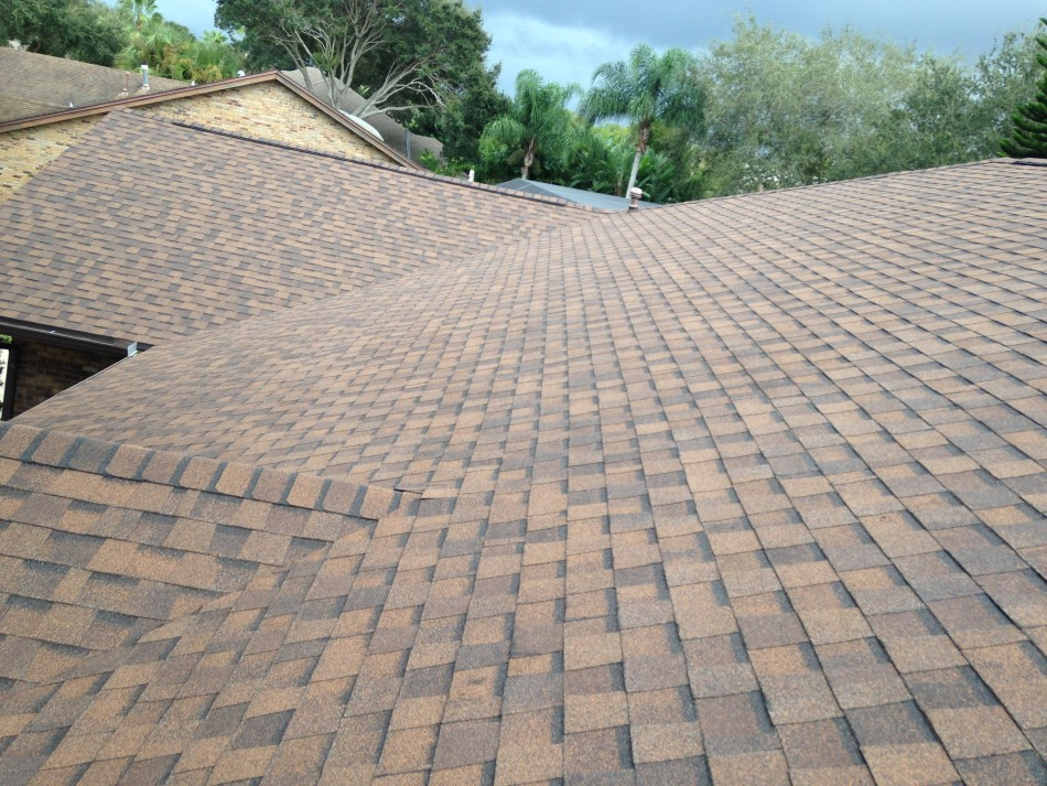Replaced Old Roof
