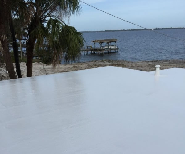 White Roof Coating