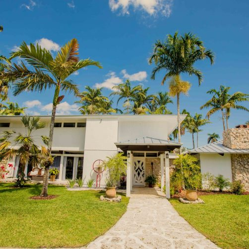 Whimsical Key West House
