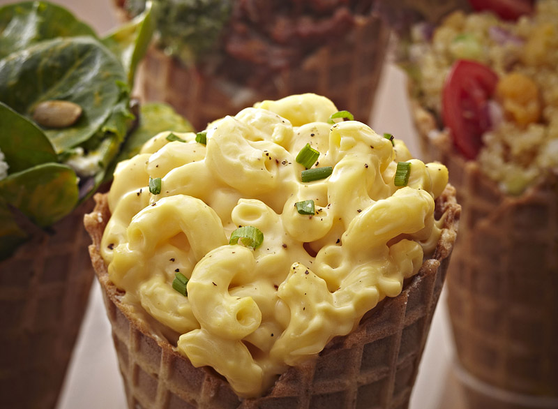 Mac N Cheese Cone