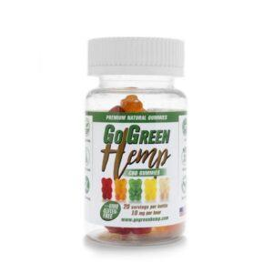GoGreen Hemp | CBD Gummy Bears