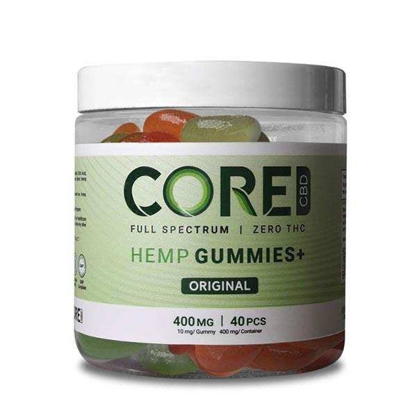CBD Gummies 400mg (40 count, 10mg each)