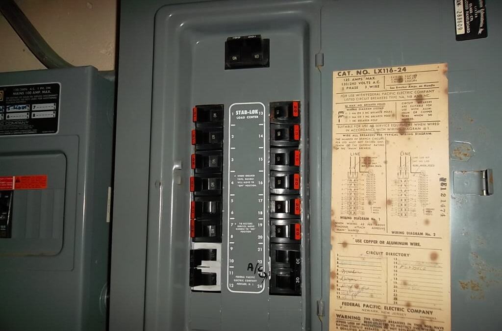 Why You Should Replace Federal Pacific Electric Stab-Lok Panels