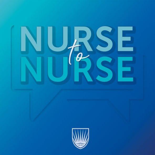 Nurse to Nurse Podcast Logo