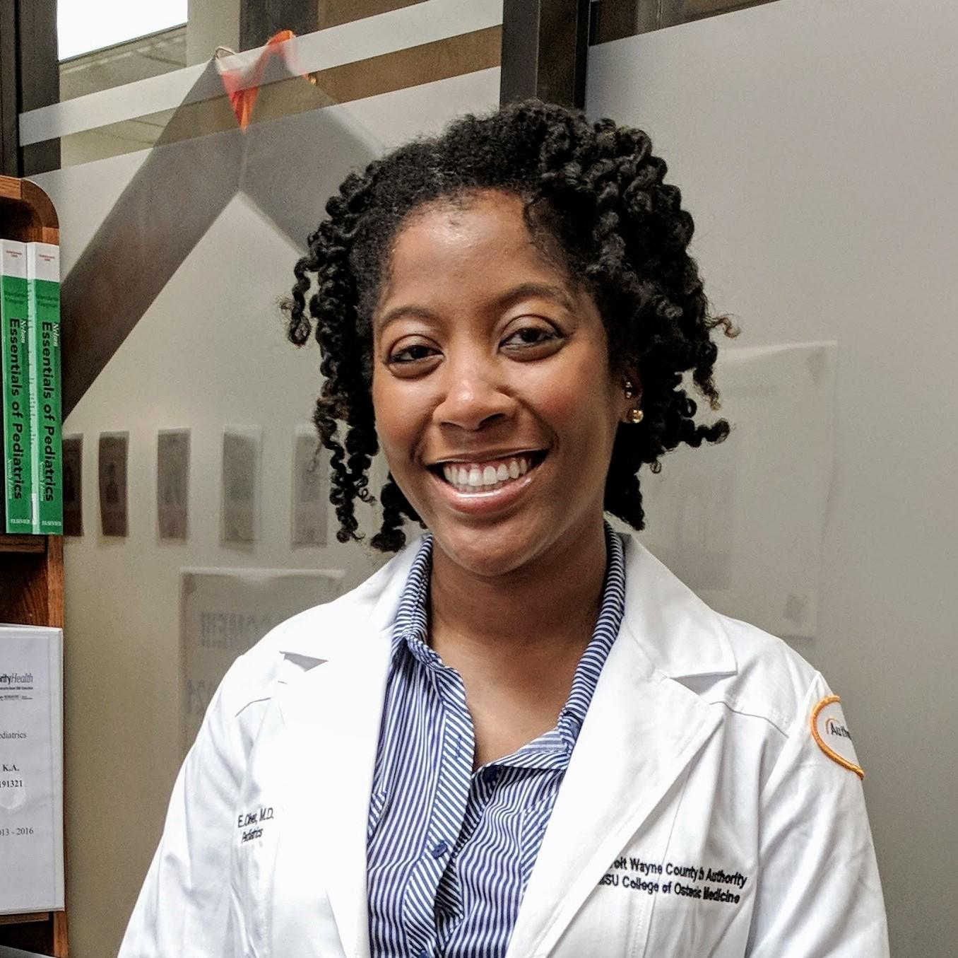 PEDIATRICIAN ERICKA OLIVER URGES PARENTS TO KEEP VACCINATION SCHEDULE AND TO STAY ON TOP OF MENTAL HEALTH DURING THESE NEWS-HEAVY DAYS