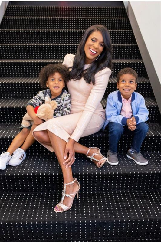 Dr. Jessica Shepherd and her two sons
