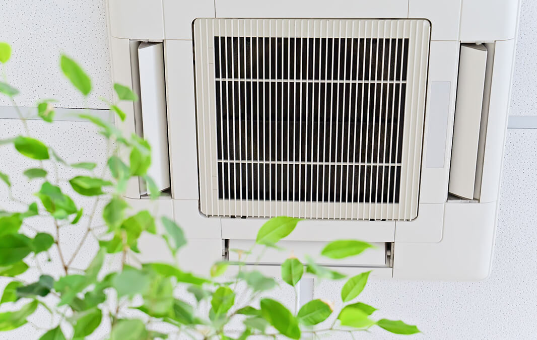 Air Condition on ceiling