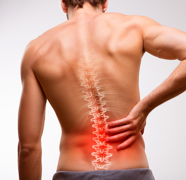 man with back pain who needs a laminectomy with Sierra spine institute