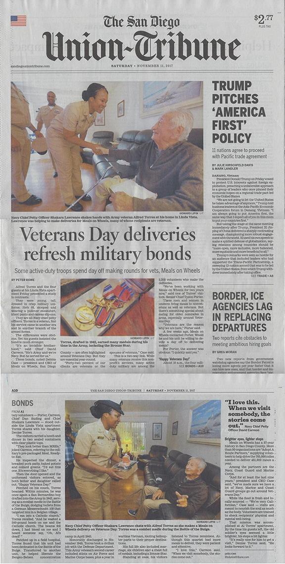 Veterans Day PR story