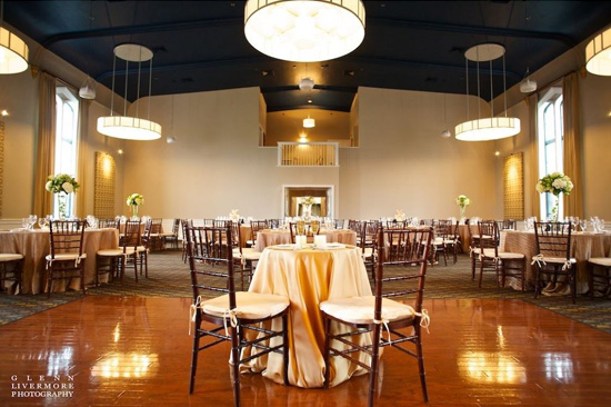 Steeple Hall Mission Oak Grill Wedding