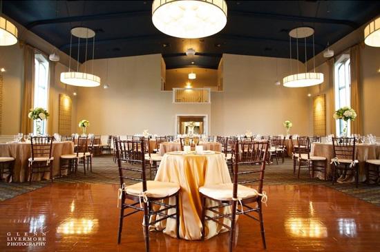 Steeple Hall Mission Oak Grill Wedding