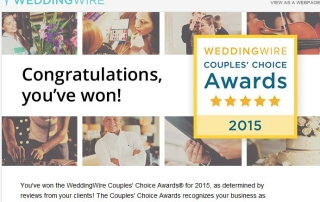 Winner - Couples Choice Awards 2015