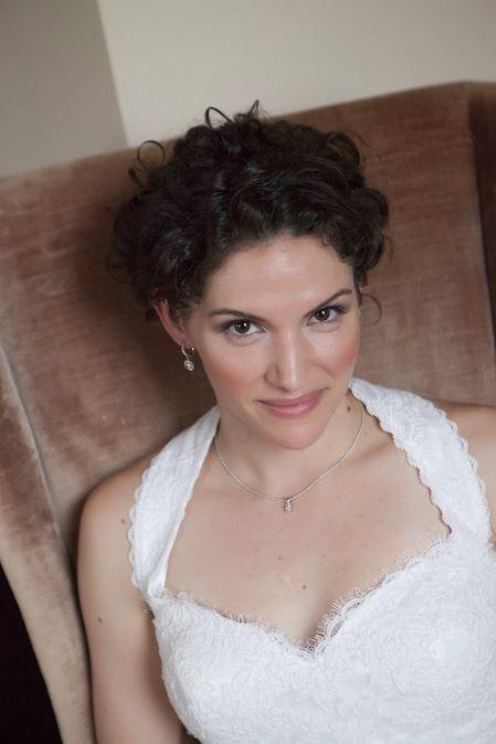 Bride at Steeple Hall Wedding