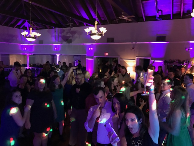 Party at Dance Floor at Fairways at Woburn Country Club