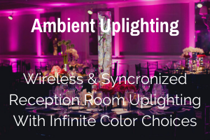 Wedding Reception Uplighting