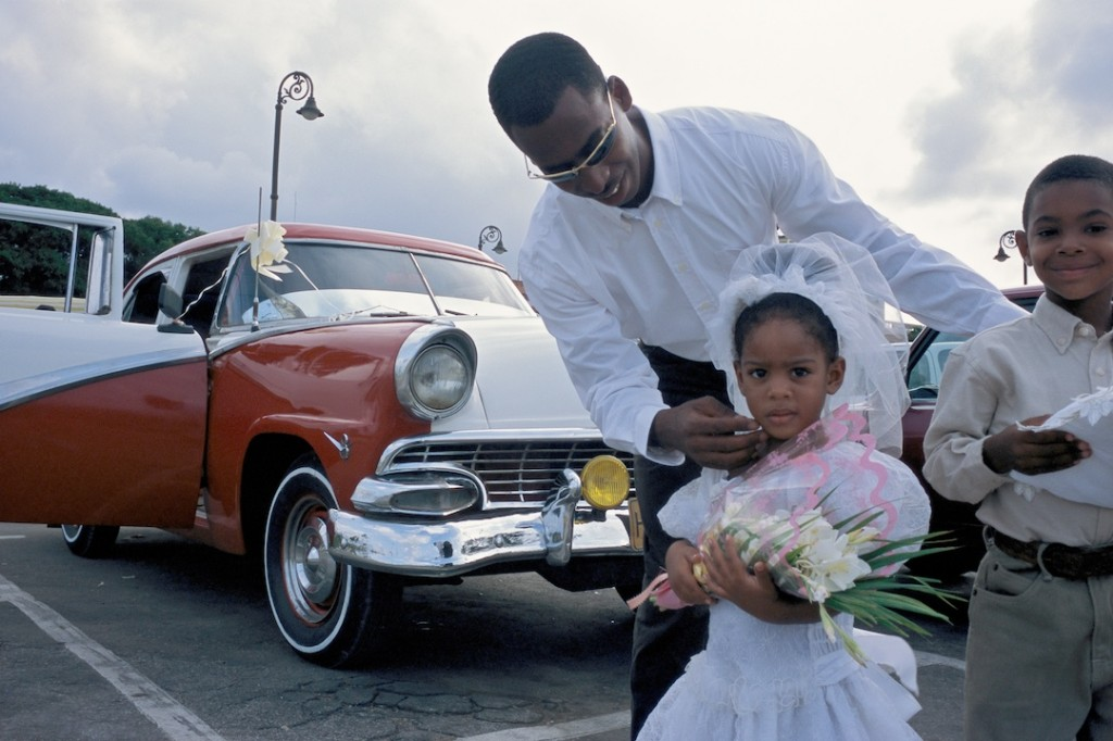 man with car