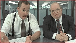 Office Space, The Two Bobs