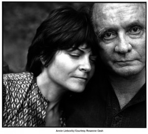 Rosanne and Johnny Cash