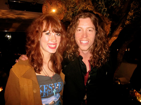 Pearl and Shaun White