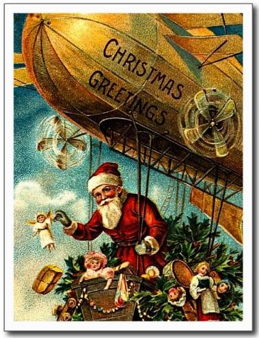 Santa on Blimp.2