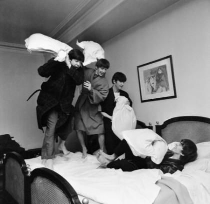 Beatles in Bed